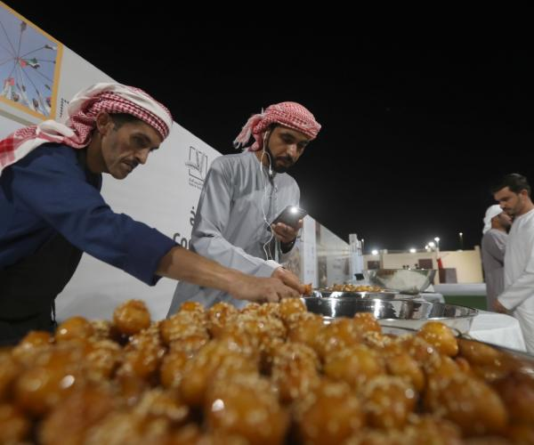Dubai Foods: The Traditional Foods Competition 'Al Dhafra Festival""