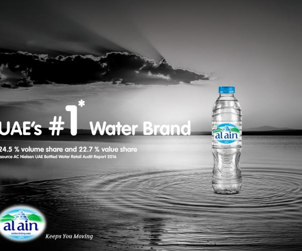Al Ain Water Becomes UAE's No.1 Bottled Water Brand