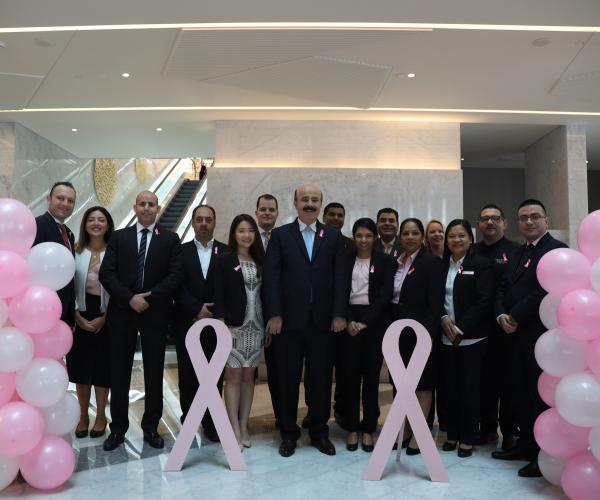 Al Bandar Rotana Launches Initiatives to Mark Breast Cancer Awareness Month
