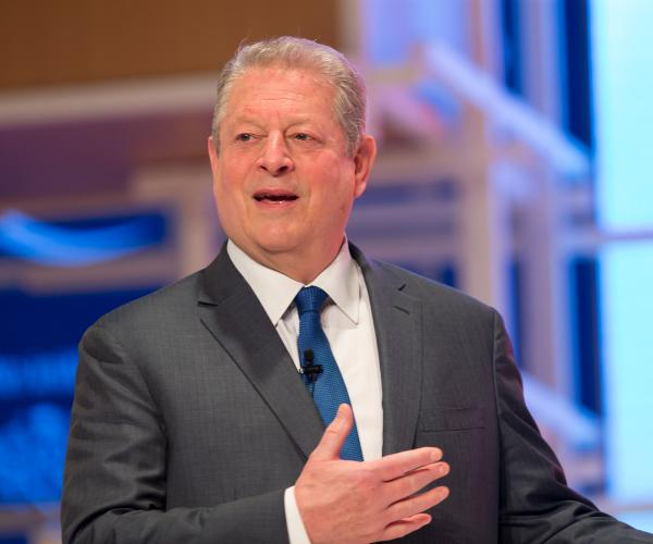 AL GORE Delivers key Note Address on Second day of Sixth Global Education & Skills Forum