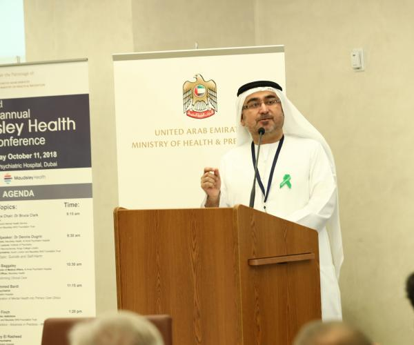 Annual Maudsley Health Conference Held Under the Patronage of Ministry of Health and Prevention Addresses Mental Health in the Region