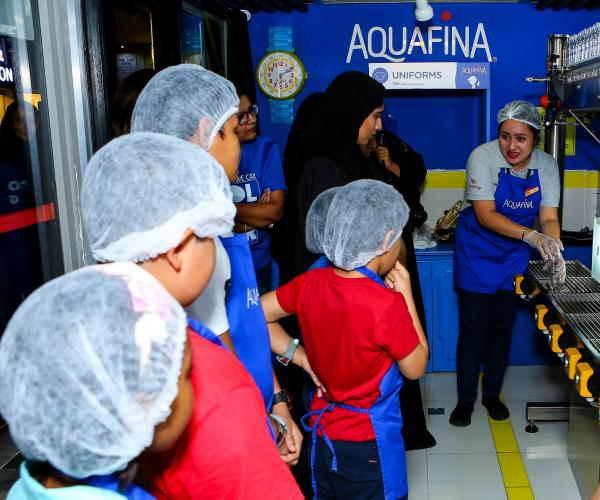 Aquafina and KidZania Make Children's Wishes Come True in Partnership with Emirates Foundation