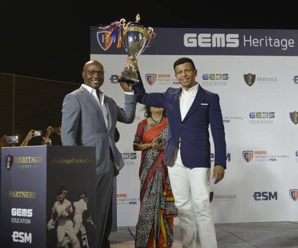 Brian Lara Launches GEMS Heritage Indian School's World-class Cricket Academy