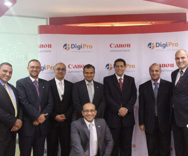 Canon and DigiPro launch business solutions and professional print showroom in Egypt