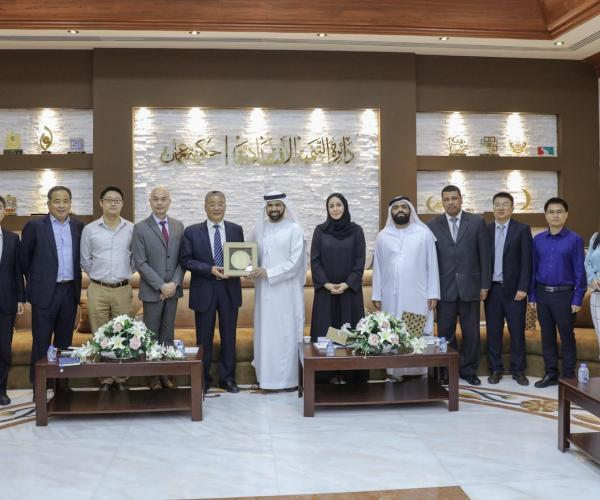Department of Economic Development - Ajman Welcomes Visit of Official Chinese Delegation to Discuss Investment Opportunities