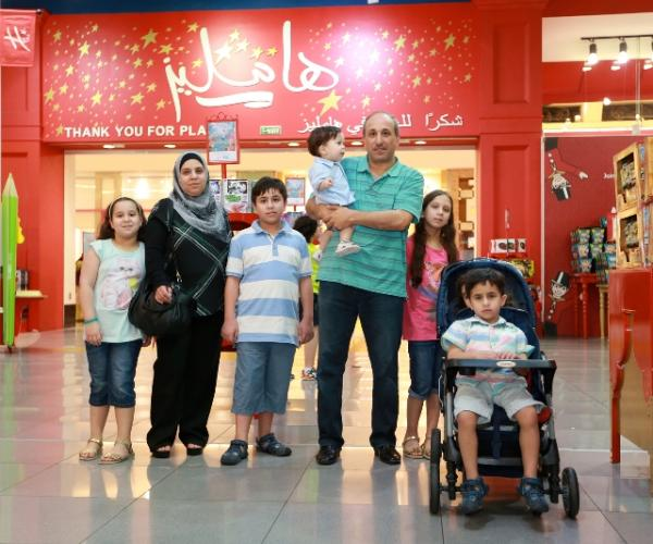 DSS winners with The Dubai Mall and Hamleys