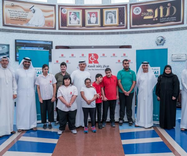 Dubai South Grants Scholarships to Students at Rashid Centre for the Determined Ones