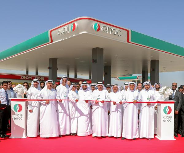 ENOC Group Opens First of 16 new Stations Scheduled for 2018