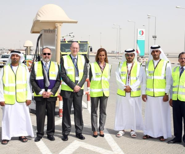 ENOC inaugurates first commercial fuel station at Al Maktoum International Airport