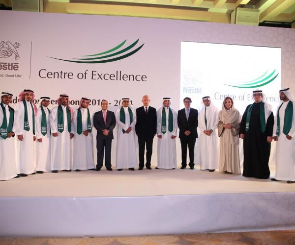 Fifty-six Saudi Students graduate from the Nestlé Centre of Excellence with a promising view to their careers