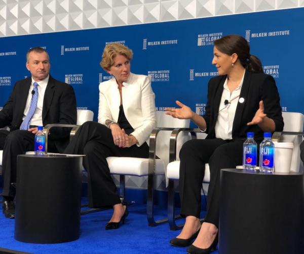 Food Security, Agri-tech and a World in Transition: Minister of State for Future Food Security Addresses Participants at Milken Institute's Global Conference, USA
