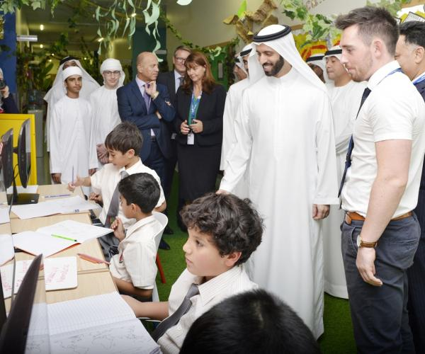 GEMS Al Barsha National School for Boys Hosts  Sheikh Saeed Bin Mohammed Bin Khalifa Al Maktoum