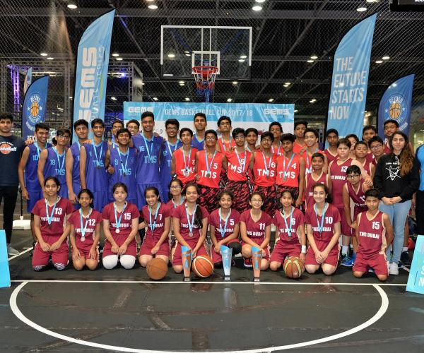 GEMS Wellington International School Dubai  Outshines in the First GEMS Basketball Cup