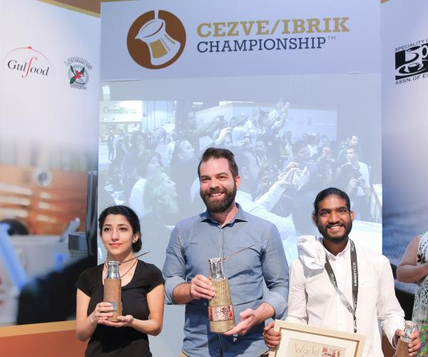 Greece Bags Coffee Gold At 9th World Cezve/Ibrik Championships At Gulfood