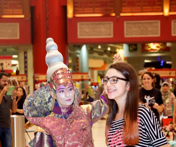 Hair raising show with funky hairstyles turns heads at Ibn Battuta Mall