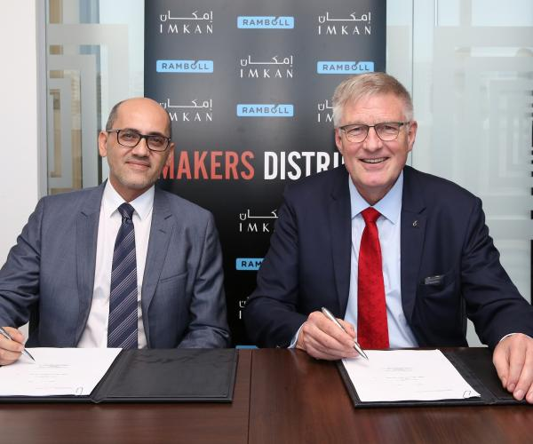 IMKAN Brings in Ramboll on AED 2 billion First-phase of 'Makers District' - the new Heart of Abu Dhabi