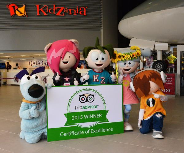 KidZania Kuwait gets big thumbs-up from TripAdvisor