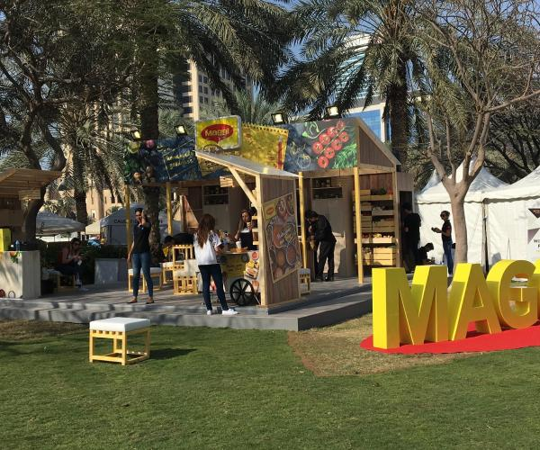 MAGGI Arabia Bagged the Best Stand Award at the Taste of Dubai 2017 Festival