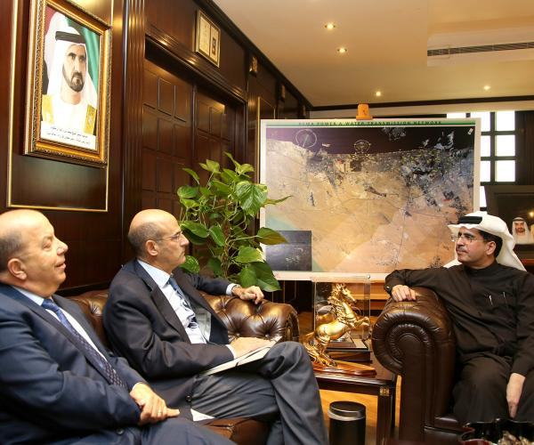MD & CEO of DEWA receives chairman of French Alstom