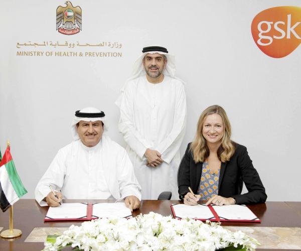 Ministry of Health & Prevention Signs Agreement with GSK to Ensure Delivery of Medical supplies During Emergencies