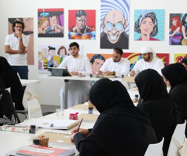 New ComiQ Workshop by The Cultural Office helps raise the calibre of Cartoonists in UAE