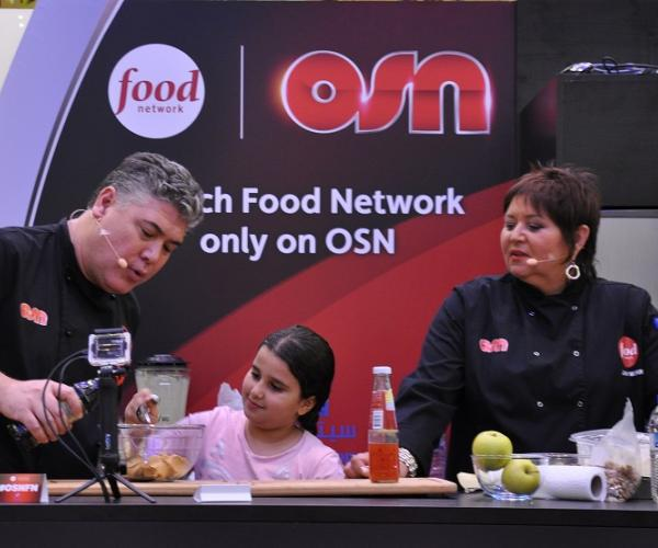 OSN hosts Food Network and Travel Channel Celebrity Chefs at Dubai Food Festival