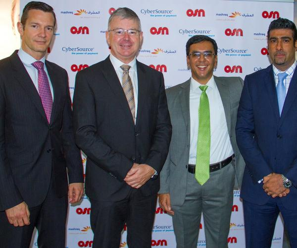 OSN sets industry-first with - CyberSource secure online payment gateway for customers
