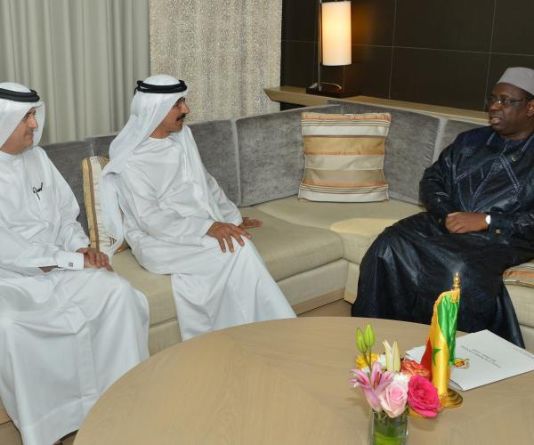 President of Senegal receives Sultan bin Sulayem, acclaims DP World's efforts in Dakar
