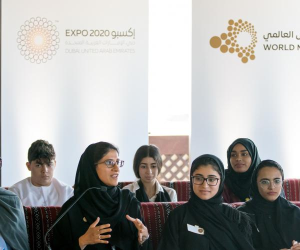 School Students Lead Conversation About Future Cities at Expo 2020's First Next Gen World Majlis