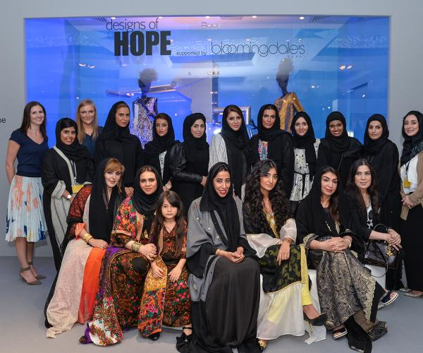 In support of the UAE Water Aid initiative,'Designs of Hope' charity exhibition at Dubai Ladies Club opens to a large turnout