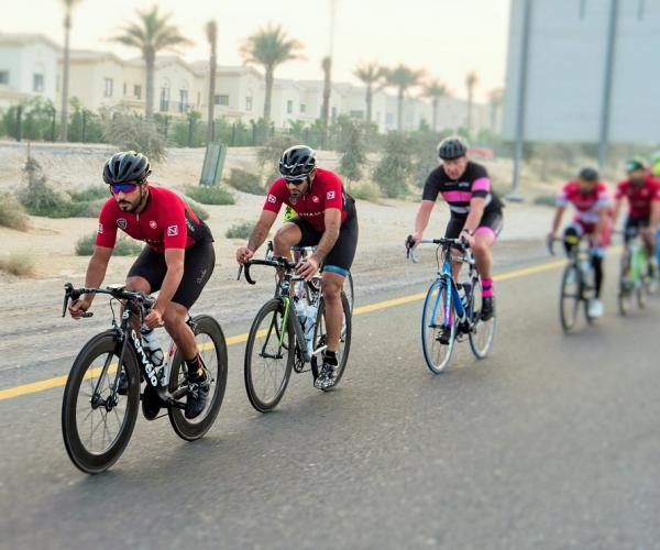 Town Square Puts Spotlight on Active Lifestyle With Support to UAE's Torque Cycling Team
