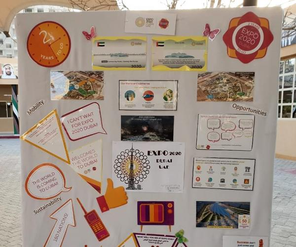 UAE Schools Bring to Life Expo 2020 Dubai's Themes with Week of Celebrations and Activities