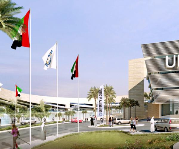 University of Dubai board of trustees evaluates progress in construction of new premises