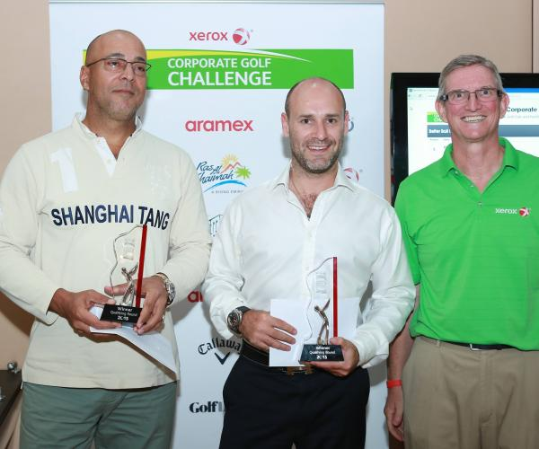 Xerox Corporate Golf Challenge drives in 17th edition withTeam What Went Wrong lifting trophy