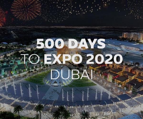 Embedded thumbnail for 500 days to Expo 2020 Dubai- Let the countdown begin!