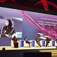 'GOSSIP The Brand' Founder and CEO Dr. Shayma Fawwaz Highlights Importance of Practices and Policies in Support of Female Entrepreneurs at Women's Economic Empowerment Summit