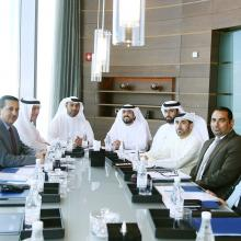 The Administrative and Regulatory Legislative Committee holds its first meeting at Burj Khalifa
