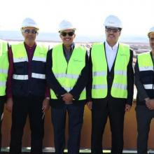 Al Tayer visits Noor Power Station 1 in Ouarzazate, Morocco