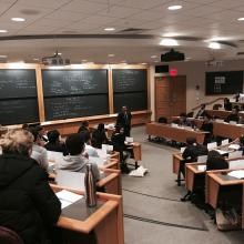 Alabbar Speaks to Next Generation Leaders at Harvard Business School