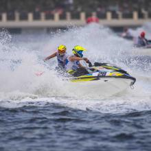 The AquaBike World Championship- GRAND PRIX OF SHARJAH Trials Kicks off Today with Participation of International Athletes
