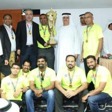 DEWA honours the winners of its 2nd Suppliers Cricket Tournament