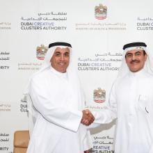 Dubai Creative Clusters Authority Signs Partnership Agreement with Ministry of Health and Prevention