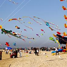 Dubai International Kite Fest takes off to a spectacular start