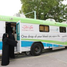 Dubai Public Library joins hands with Dubai Health Authority to organise blood donation campaign