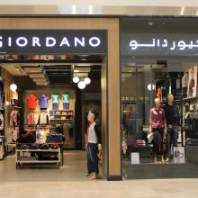 Giordano Continues Expansion; Opens at Yas Mall Abu Dhabi