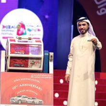 Grocery employee bags a whopping prize worth AED 500,000 in Infiniti Mega Raffle after 15-year wait