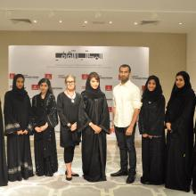 Judging Panel meets participants of The Sheikha Manal Art Exchange Program after their educational visit to Hong Kong