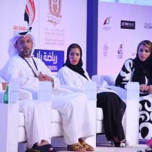 Lamia Abdulaziz Khan highlights the status of Women Sports in Dubai at the International Conference on Sports for Women