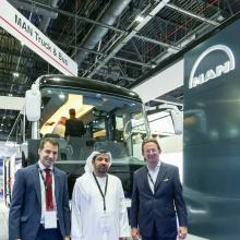 MAN Truck & Bus Showcases the all-new MAN Lion's Coach at UITP MENA Transport Congress Exhibition 2018