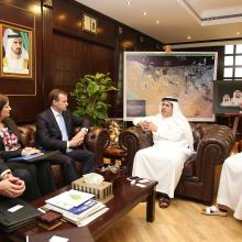 MD&CEO of DEWA receives delegation from US-based Navigant Consulting
